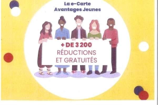 Carte avantages jeunes 2021 2022